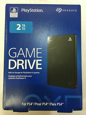 Seagate Game Drive for PS4 2TB External USB 3.0 Portable Hard Drive stgd2000100