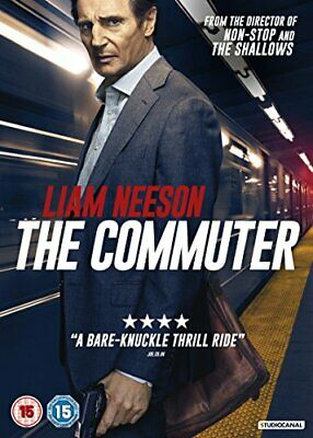 The Commuter [DVD] [2018] By Paul Cameron,Liam Neeson,Vera Farmiga,Byron Will.