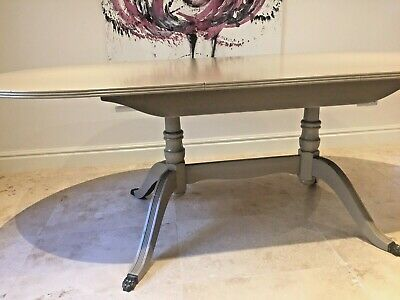 Dining Table - Extending- Farrow & Ball Painted - 6+ Seater