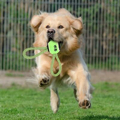 Pet Puppy Dog Cotton Rope Ball Outdoor Training Grinding Teeth Cleaning Toy New