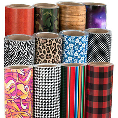 "Siser EasyPatterns Heat Transfer Vinyl HTV 12""x3ft /Roll ($39.95 Choose 3 Rolls)"