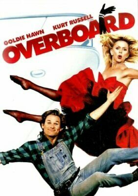 Overboard [DVD] [1988] By Goldie Hawn,Kurt Russell,Roddy McDowall,John A. Alo.