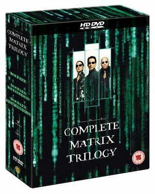 The Complete Matrix Trilogy [HD DVD] By Keanu Reeves,Laurence Fishburne.