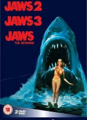 Jaws 2 / Jaws 3 / Jaws: The Revenge [Box Set] [DVD] By Dennis Quaid,Bess Arms.
