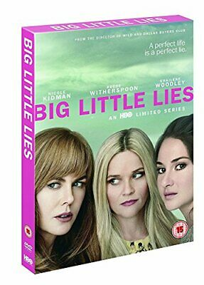 Big Little Lies S1 [DVD] [2017] By Reese Witherspoon,Nicole Kidman.