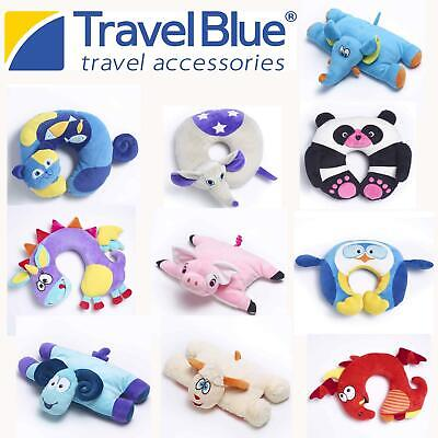Super Soft Neck Pillow Kids Head Support Sleep Cushion for Travel, Car, Holiday