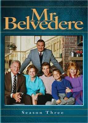 MR BELVEDERE TV SERIES COMPLETE SEASON THREE 3 New Sealed 4 DVD Set