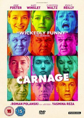 Carnage [DVD] By Jodie Foster,Kate Winslet.