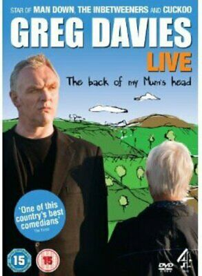Greg Davies Live: The Back of My Mum's Head [DVD] By Greg Davies.