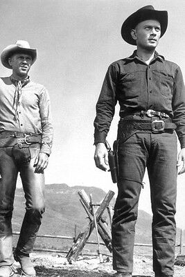 Steve Mcqueen Yul Brynner The Magnificent Seven 11x17 Mini Poster