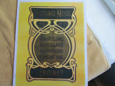 1904 Fairbanks Morse #44B  Gas Engine Catalog  All types of Engines!!