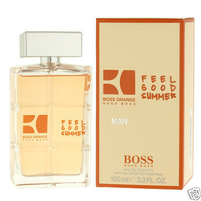 Hugo Boss Orange Man Feel Good Summer Eau De Toilette EDT 100 ml (man)