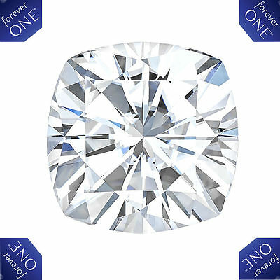 2,40 CT Forever One Moissanite Def Coupe Coussin Pierre Détachée Charles &