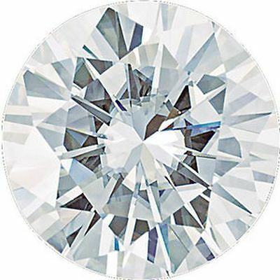 2.20 CT Charles & Colvard Forever One Moissanite Détachée Coupe Ronde Pierre