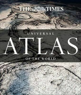 NEW The Times Universal Atlas Of The World By Times Atlases Hardcover