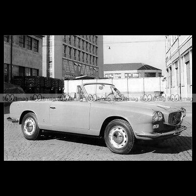 #pha.019995 Photo LANCIA FLAVIA CONVERTIBLE VIGNALE 1963 Car Auto