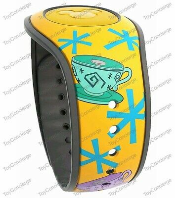 DISNEY PARKS MagicBand 2 - MAD TEA PARTY - ALICE IN WONDERLAND Magic Band 2 NEW