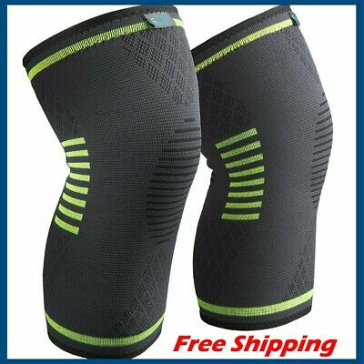 Sable Knee Brace Compression Sleeve FDA Approved 1 Pair - Medium size
