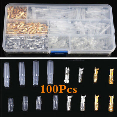 Auto Car Electrical Wire Terminals Assorted Set Insulated Crimp Connectors Spade