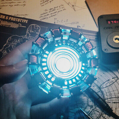 Arc Reactor model DIY MK1 LED Chest Light USB Powered Movie Props Collection