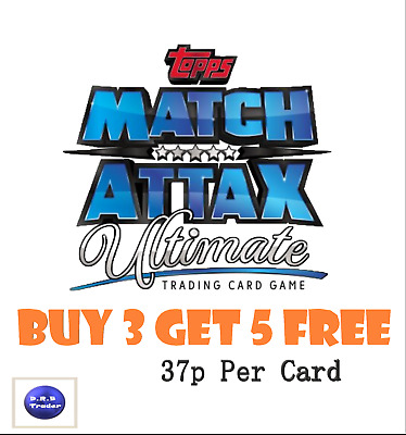 Match Attax Ultimate 2018/19 18/19 cards 1-100 Pick Your Own- BUY 3 GET 5 FREE