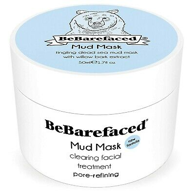 Dead Sea Mud & Clay Face Mask Blackhead & Acne Treatment with BHA Salicylic Acid
