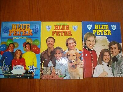 Three Blue Peter Annuals no 17,19 and 20-Excellent condition