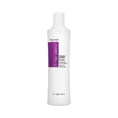 Fanola No Yellow Shampoo - 350ml For Grey Superlightened Or Decoloured Hair, Spe