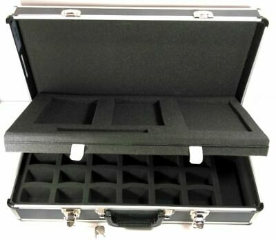 Camera Camcorder DSLR Hard Case Aluminum Foam Insert 24x12x6 Inches Equipment