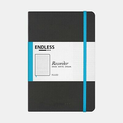 Endless Recorder Tomoe River 68 GSM Notebook Medium A5 - 213 x 142mm , 192 Pages