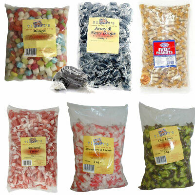 Tilleys Individually Wrapped 3kg Sweet Shop Favourites Various Types !!