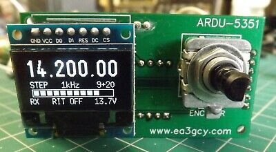ARDU-5351 Compact Digital VFO Frequency Oscillator 50kHz - 99.9MHz **FULL-KIT**