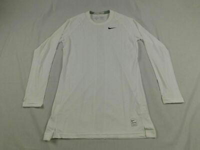NEW Nike - White Dri-Fit Compression Long Sleeve Shirt (Multiple Sizes)