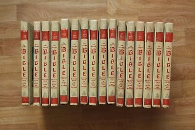 The Living Bible encyclopedia in Story and Pictures 16 volumes