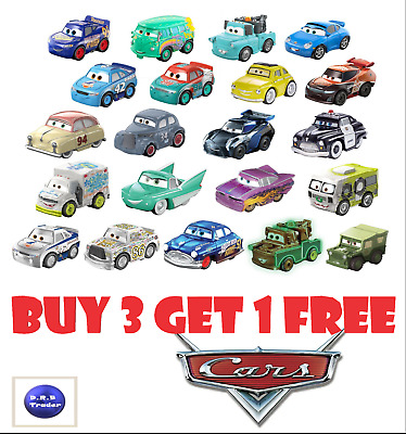 Disney Pixar Cars Mini Micro Racers Blind Bag BRAND NEW *Pick your own* 4 FOR 3