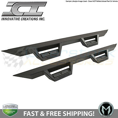 ICI Magnum RT Black Step Nerf Bars Boards 2004-2008 Ford F150 Crew Cab RTS64FD