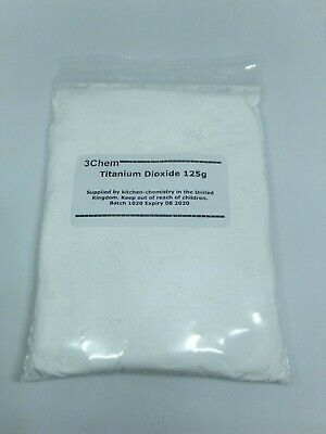 Titanium Dioxide SPECIAL OFFER 125g for the price of 100g White Pigment