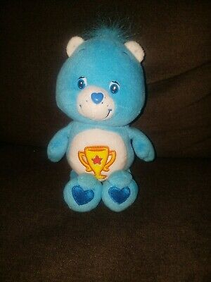 Care Bears Blue Champ Trophy Plush 9 inches