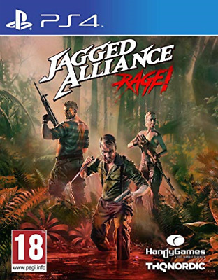 Playstation 4 Reorderable-Jagged Alliance Rage Ps4 GAME NEW