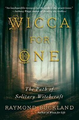 NEW Wicca For One By Raymond Buckland Paperback Free Shipping
