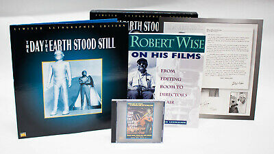 The Day the Earth Stood Still Limited Autographed Edition Laserdisc