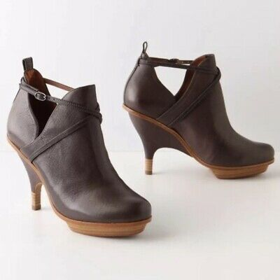 07728a94147 Women Size EU 39 US 8.5 Leifsdottir Illka Brown Genuine Leather Bootie  Anthro