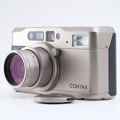 """""""Near Mint"""" CONTAX TVS 35mm Point & Shoot Film Camera Shipping from Japan"""