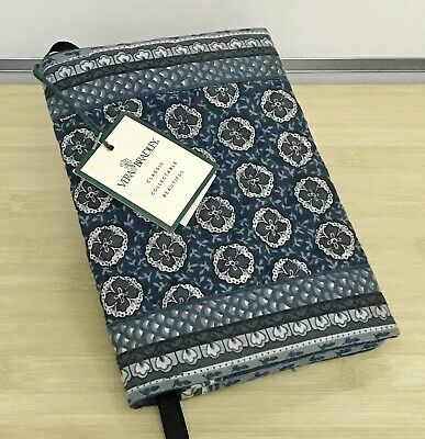 Vera Bradley Book Cover in Indigo