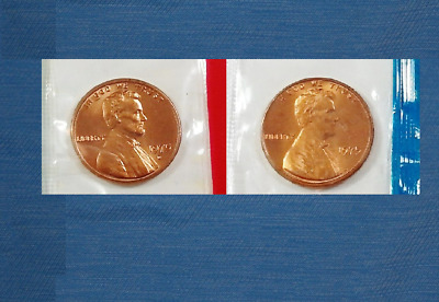500 BU Mint set cello cent 1968 - 1981  PD Lincoln memorial penny roll