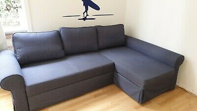 Magnificent Sofa Bed Ikea Double Bed 3 Seater Couch In Excellent Condition Best Image Libraries Weasiibadanjobscom