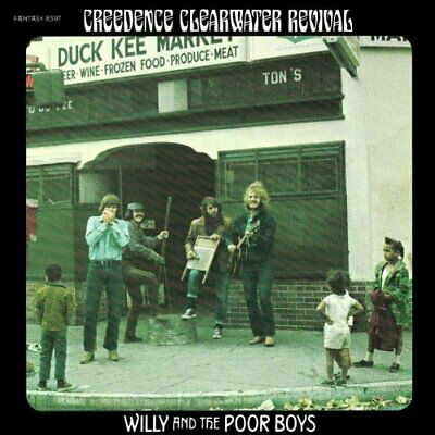 Creedence Clearwater Revival - Willy A... - Creedence Clearwater Revival CD CFVG