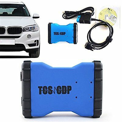 Blue TCS CDP Pro Plus Auto OBDII Car Truck Scanner for autocom Diagnostic Tool