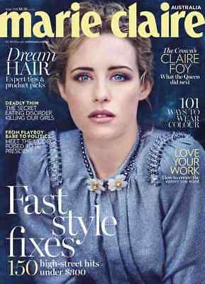 Marie Claire Australia May 2018, Fast Style Fixes, Dream Hair (NEW)