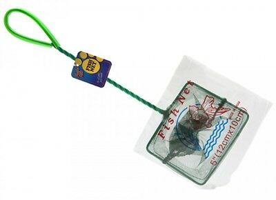 """5"""" fish net ideal for all aquariums for catching fish/cleaning tank"""